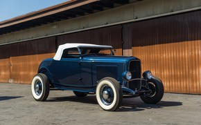 Обои Roadster, Classic, American, Hot-Rod, 1932, Ford
