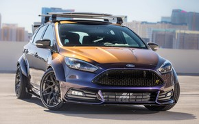 Обои Focus ST, Blood Type Racing, tuning, Ford