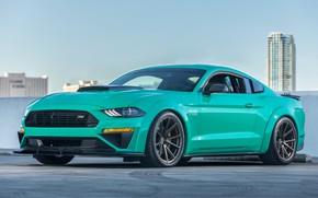 Обои Ford Mustang, 2018, 729, Roush